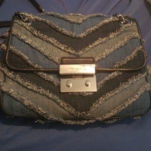 64512c2426 ... Michael Kors Denim Handbag ...